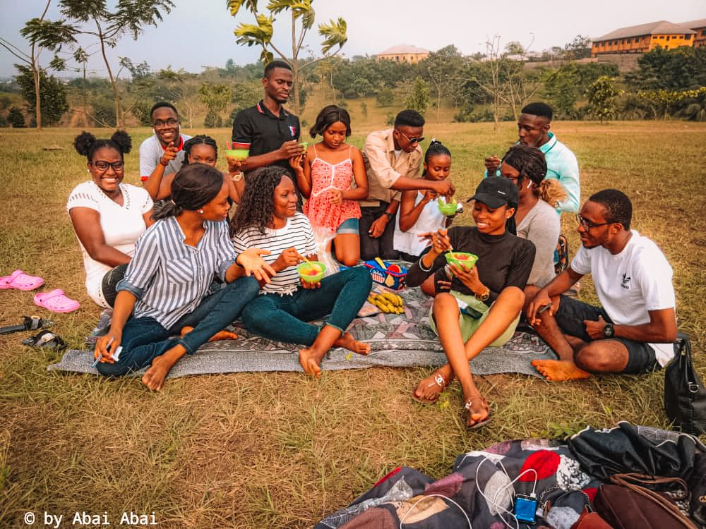 Group photo of the picnic