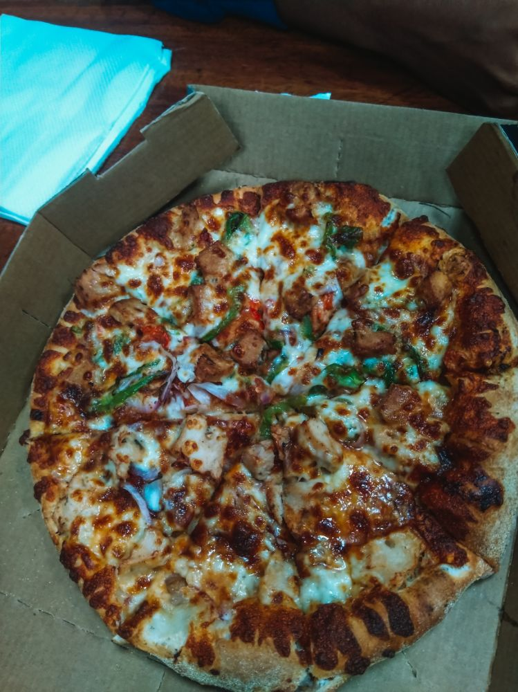 Pizza from Domino